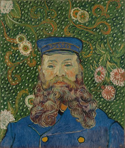 Van Gogh - Portrait of Joseph Roulin
