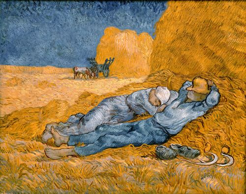 Van Gogh - Rest from work
