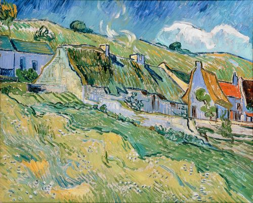 Van Gogh - Thatched cottages