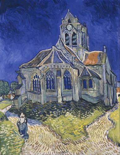 Van Gogh - The Church in Auvers