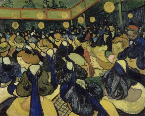 Van Gogh - The Dance Hall in Arles