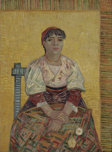 Van Gogh - The Italian Woman