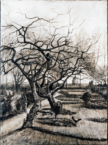 Van Gogh - The Parsonage Garden at Nuenen in Winter