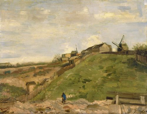 Van Gogh - The hill of Montmartre with stone quarry