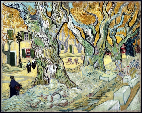 Van Gogh - The road menders