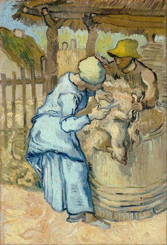 Van Gogh - The sheep-shearers