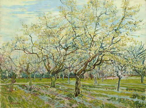 Van Gogh - The white orchard