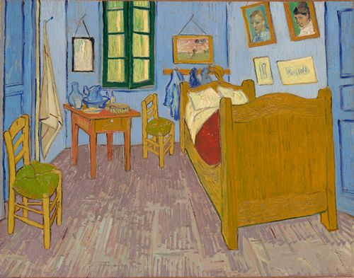 Van Gogh - Vincents bedroom at Arles