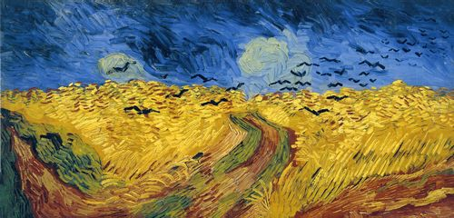 Van Gogh - Wheatfield with crows