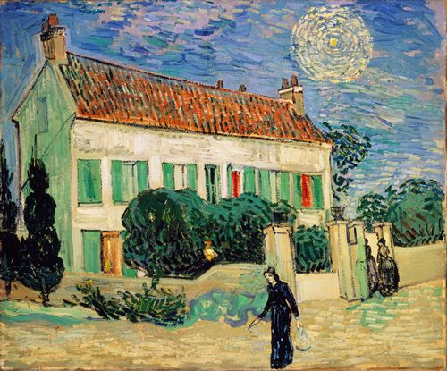 Van Gogh - White House at Night