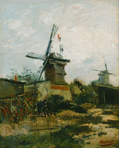Van Gogh - Windmills on Montmartre