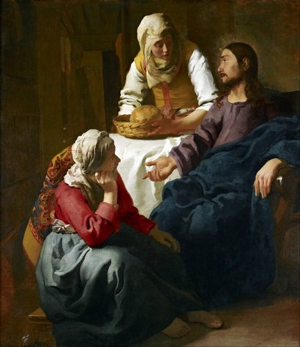 Vermeer - Christ in the House of Martha and Mary