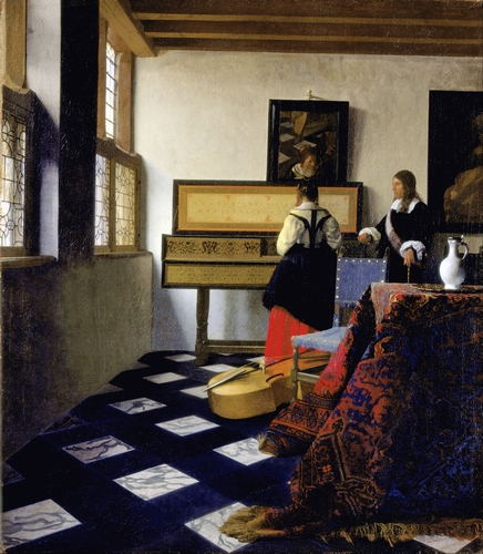 Vermeer - Lady at the Virginal