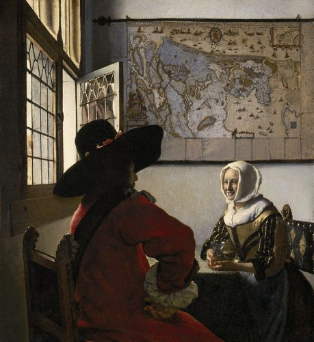 Vermeer - Officer and Laughing Girl