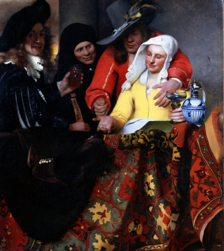 Vermeer - The procuress