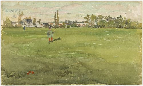 Whistler - Green and Silver - Beaulieu, Touraine