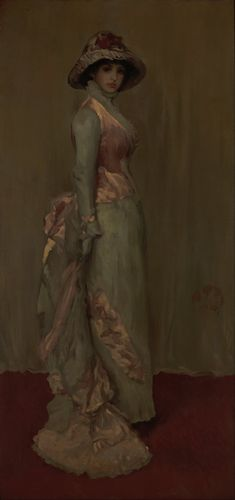 Whistler - Harmony in Pink and Gray,  Lady Meux
