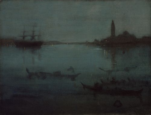 Whistler - Nocturne in Blue and Silver - The Lagoon, Venice