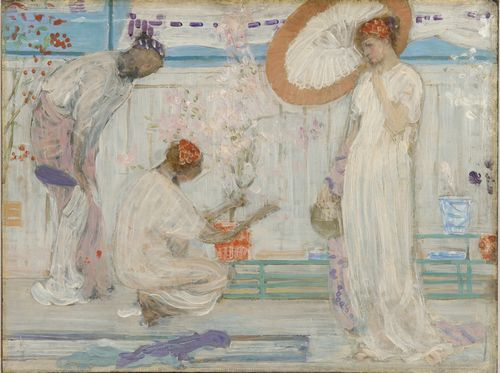 Whistler - The white symphony with three girls
