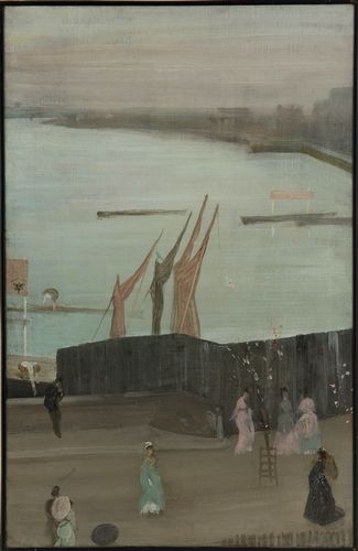 Whistler - Variations in pink and grey