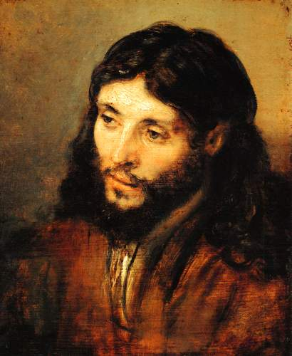 Christ 2 by Rembrandt