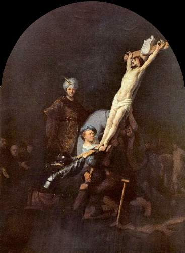 Crucifixion 2 by Rembrandt
