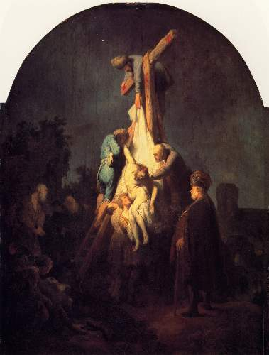 Down from the cross by Rembrandt