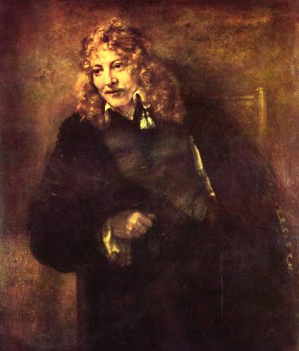 Portrait of Nikolaus  by Rembrandt