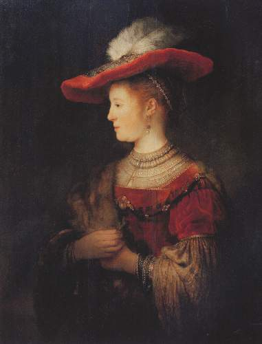 Portrait of Saskia by Rembrandt