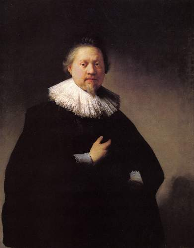 Portrait of a man 2 by Rembrandt