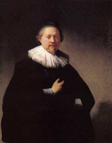 Portrait of a man 4 by Rembrandt