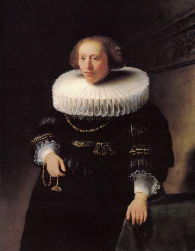 Portrait of a woman 2 by Rembrandt