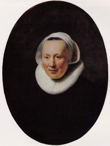 Portrait of a woman 3 by Rembrandt