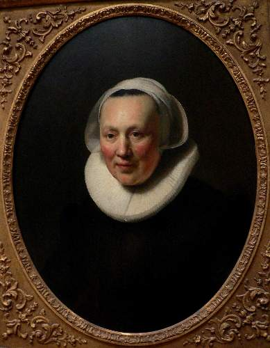 Portrait of a woman by Rembrandt