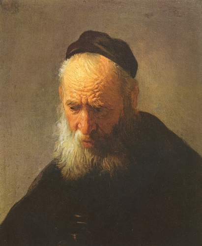 Portrait of his father by Rembrandt