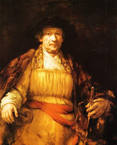 Self Portrait 2 by Rembrandt
