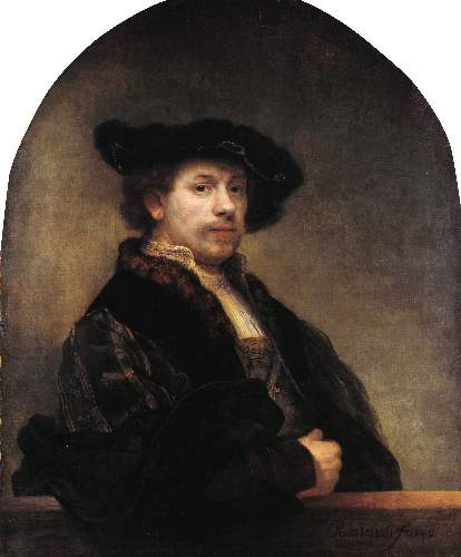 Self Portrait 3 by Rembrandt
