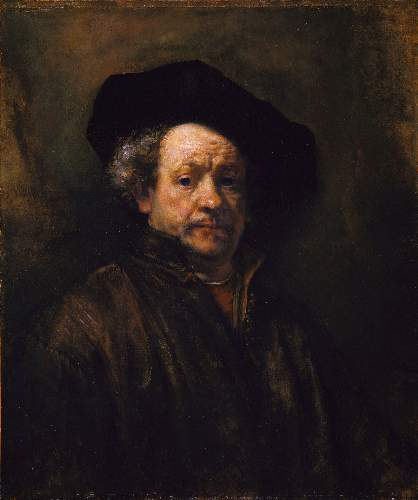 Self Portrait 6 by Rembrandt