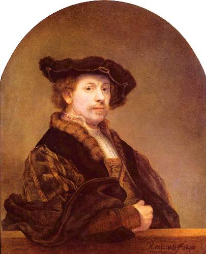 Self Portrait 7 by Rembrandt