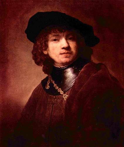Self Portrait as a young man 2 by Rembrandt