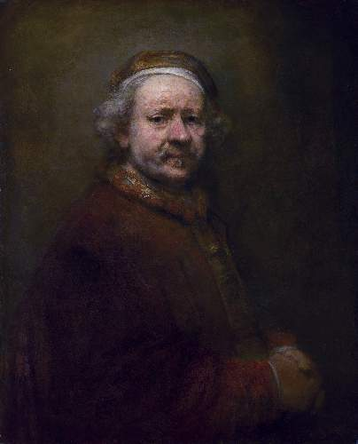 Self Portrait just before death by Rembrandt