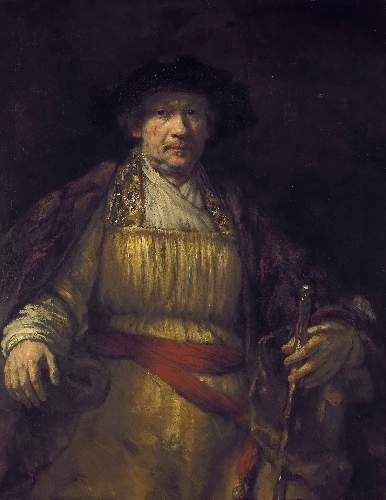 Self Portrait, 1658 by Rembrandt