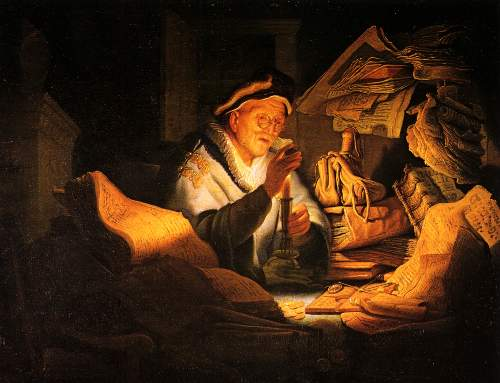The rich Landholder by Rembrandt
