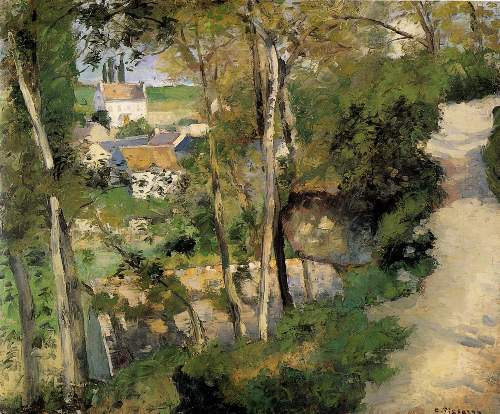 Climbing Path by Pissarro
