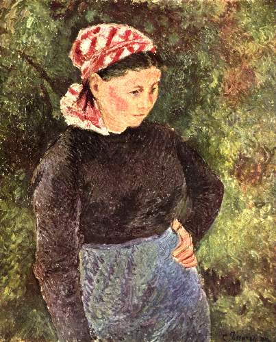 Farmers wife by Pissarro