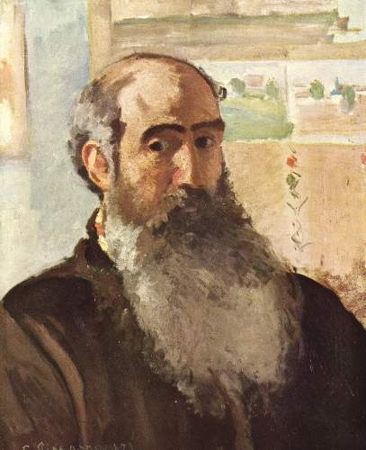 Selfportrait by Pissarro