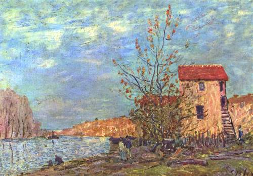 The Loing by Moret by Sisley