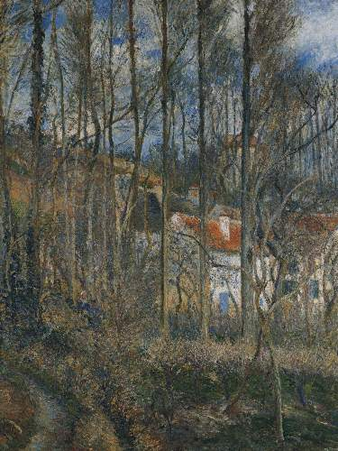 The cote des Boeufs at Lhermitage by Pissarro