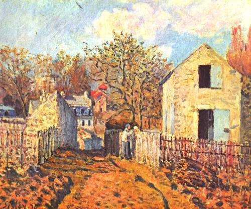 Village of Voisins by Sisley