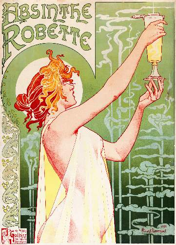 Absinthe by Henri Privat-Livemont